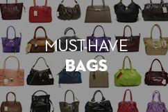 Must-Have Bags at MOREFORLESS. www.moreforless.gr