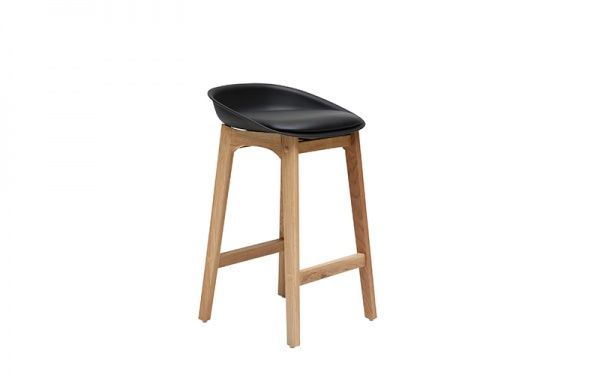Loire Stool - Black - Bar Stools & Chairs - Dining - Furniture