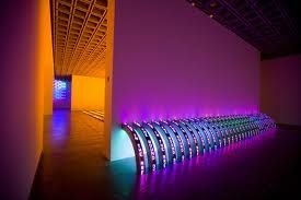 light and space.... and words -- jenny holzer