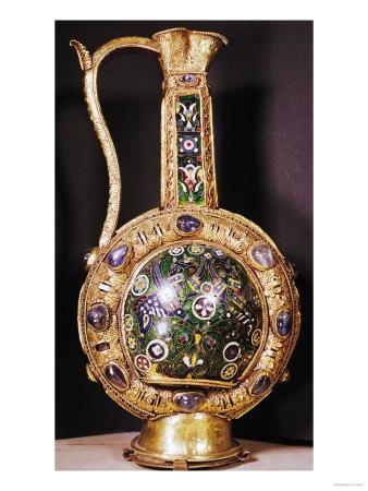Water Jug Presented to Charlemagne (742-814) by Harun Al-Rashid (circa 766-809) (Cloisonne Enamel)