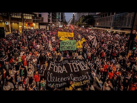 Brazil's Social Movements Planning General Strike for November