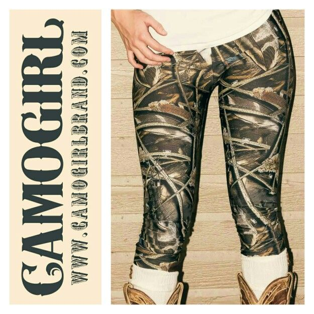 CamoGirl Camo Leggings www.camogirlbrand.com