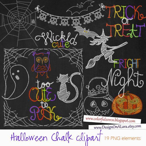 Christmas Chalk clipart, Chalkboard Christmas Clipart, Chalk Digital Clip Art Pack with Holidays Wordart, Christmas clipart overlays by DesignOnALara on Etsy