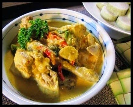 Resep Enak Opor Ayam Kampung