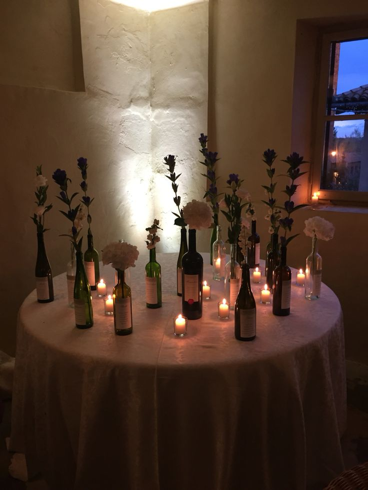 Tableau Marriage  Bottiglie di vino