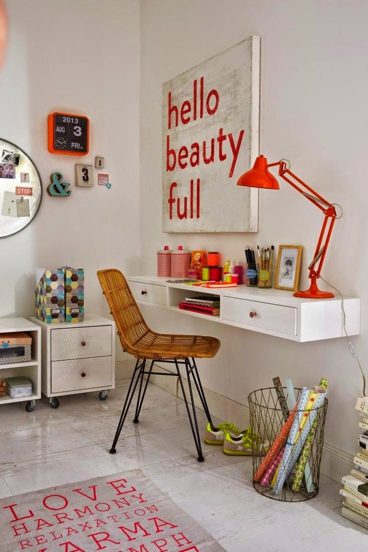 the boo and the boy: kids' workspaces