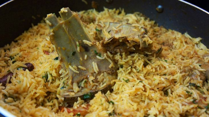 How to Cook Kabsa Laham With Arabic Rice