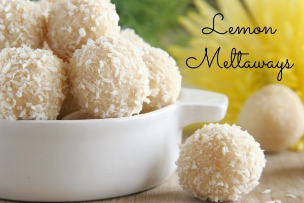 ... Gluten Free, Paleo Lemon, Lemon Meltaway, Gluten Vegans, Lemon Ball