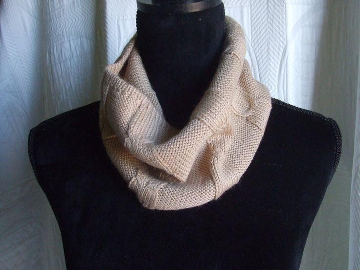 scalda collo lana maglia sciarpa ragazzo, by maglieria magica, 13,50 € su misshobby.com