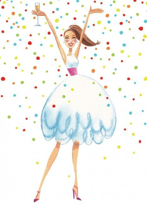 Happy Birthday Girl Illustration ~ Best images about birthday wish for cousins on pinterest happy wishes