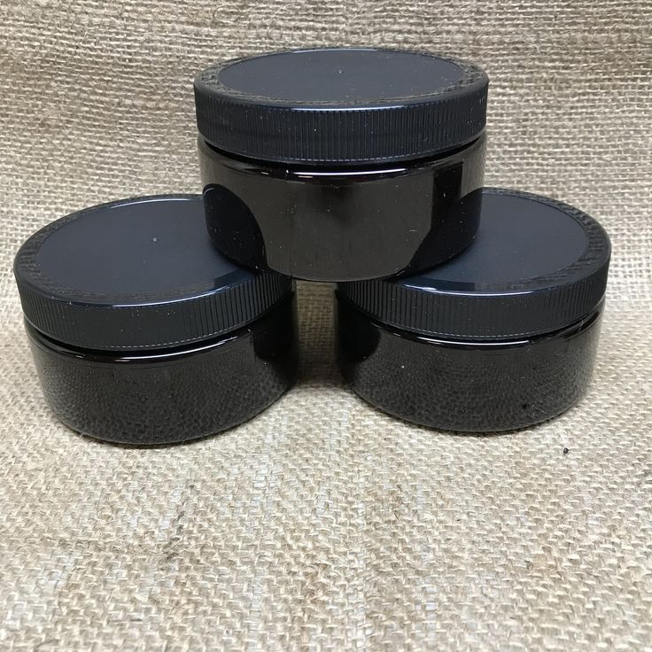 Excited to share the latest addition to my Etsy shop: 8oz Amber Plastic Jars PET Heavy Wall Low Profile Wide Mouth Jars with Lined Black Ribbed Plastic Lids. Set of Four  Visit my Etsy Shop at https://www.etsy.com/shop/GreenIslandTraders
