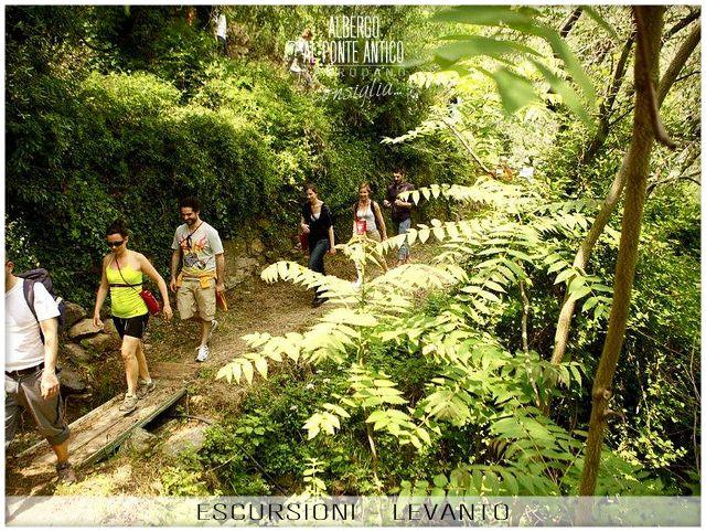 Levanto - Escursioni e Trekking - Albergo Al Ponte Antico Carrodano - La Spezia - Liguria