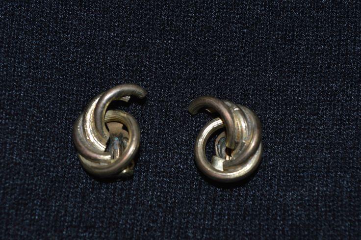 Vintage clip on earrings, Designer jewelry, Vinatge jewelry by KrisztinaVintage on Etsy