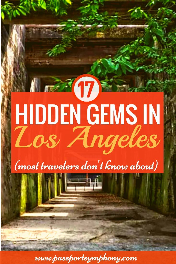 17 Hidden Gems In Los Angeles You Won T Find In Most Tourist Guides In 2020 Travel Usa Los Angeles Travel Usa Travel Destinations