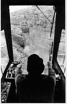 Coal Mining in Pennsylvania, Control Room of Massive Shovel, Surface Mine.    Surface mining safety and risk management is one of our interests. www.v-speedsafety.com
