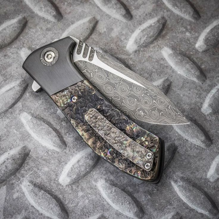 Todd Rexford Singularity  hot hammered scales/clip Damascus blade with matching Damascus pivot zirc bolsters   @rexfordknives #rexfordknives #toddrexford #hothammered #damascussteel #zirc #knives #usnstagram #usualsuspectnetwork #knifecommunity #knifecollector #knifecollection #knifeporn #knifenut #knifeaddict #grailknife #customknife #dailybadass #weaponsdaily #badassery #everydaycarry #knifepics #knifefanatics #knifeobsession #bestknivesofig #knifestagram #knivesdaily #pocketdump…