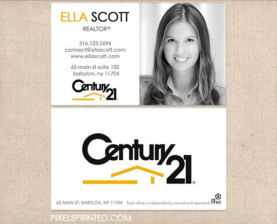 Business Cards Century 21 Real Estate Image Collections Card