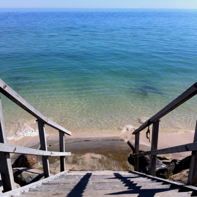 West beach stairs, Adelaide, south Australia, Australia on my lunch break.