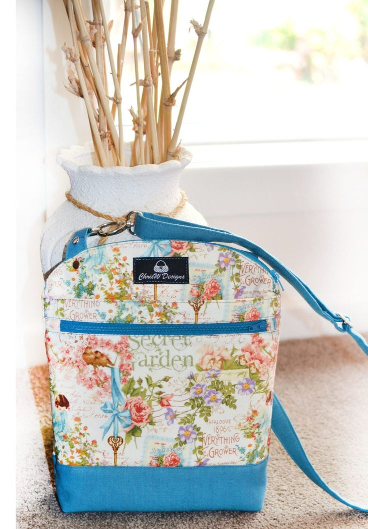 Serendipity Hip Bag Sewing Pattern from ChrisW Designs