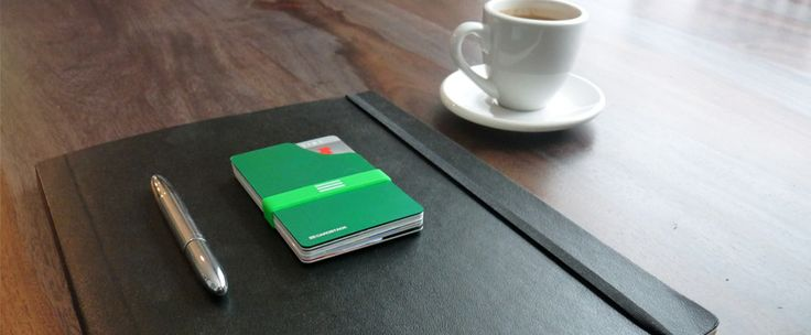 """Re-thinking the wallet. """"There is no better way to simplify and slim down a wallet than to just get rid of it altogether. Meet CARDSTACK."""""""