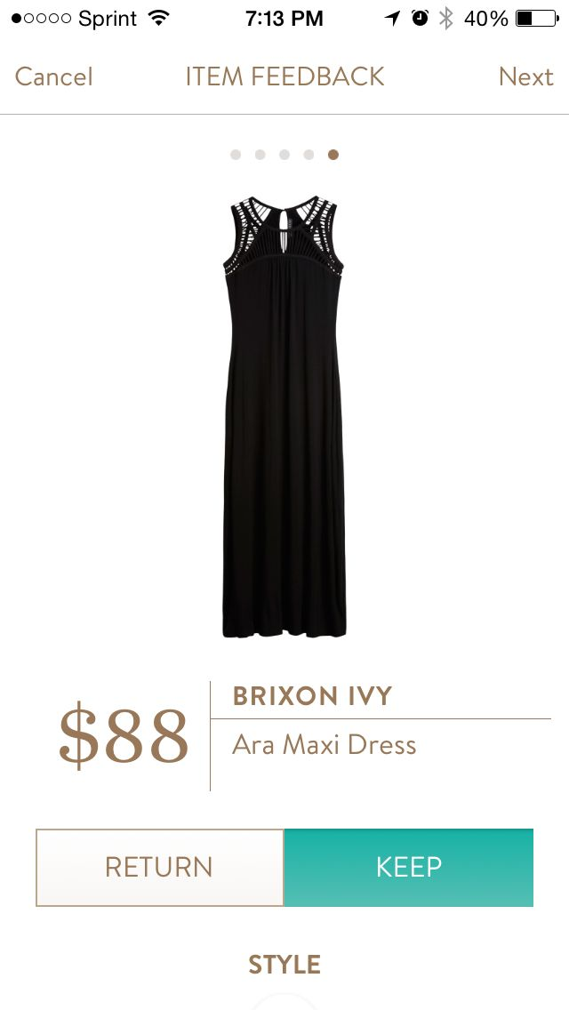 Aria Maxi Dress by Brixon Ivy. I love Stitch Fix! A personalized styling service and it's amazing!! Simply fill out a style profile with sizing and preferences. Then your very own stylist selects 5 pieces to send to you to try out at home. Keep what you love and return what you don't. Only a $20 fee which is also applied to anything you keep. Plus, if you keep all 5 pieces you get 25% off! Free shipping both ways. Schedule your first fix using the link below! #stitchfix @stitchfix…