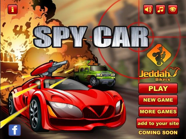 Spy Car, Your driving skills are the only thing keeping your country safe from criminals.