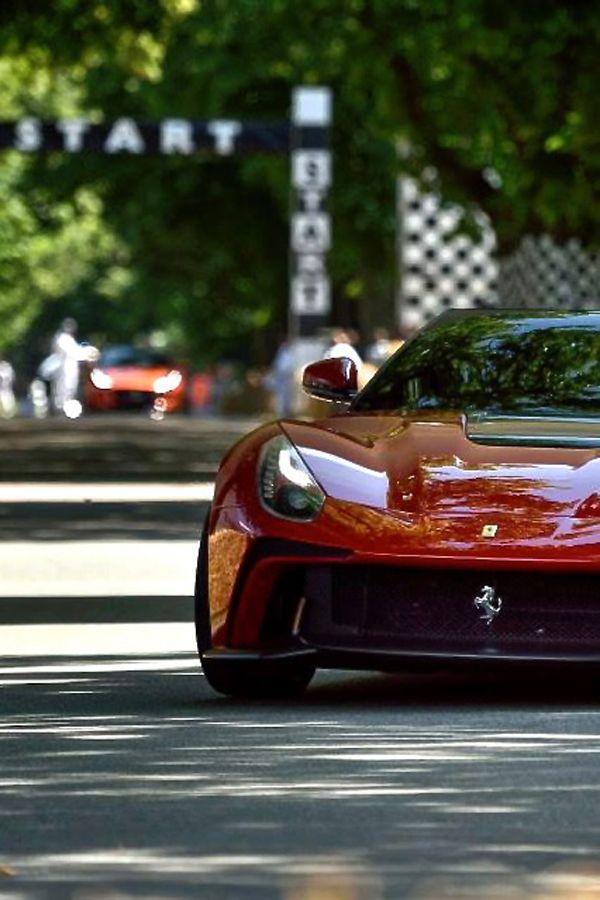 Ferrari F12 TRS. Futuristic CarsLa FerrariVintage ...