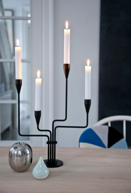 Piet Hein - Karlsvognen or The Great Bear is an icon in Danish design - The candelabra is designed by Piet Hein