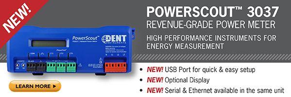PowerScout 3037 Revenue Grade Power Meter