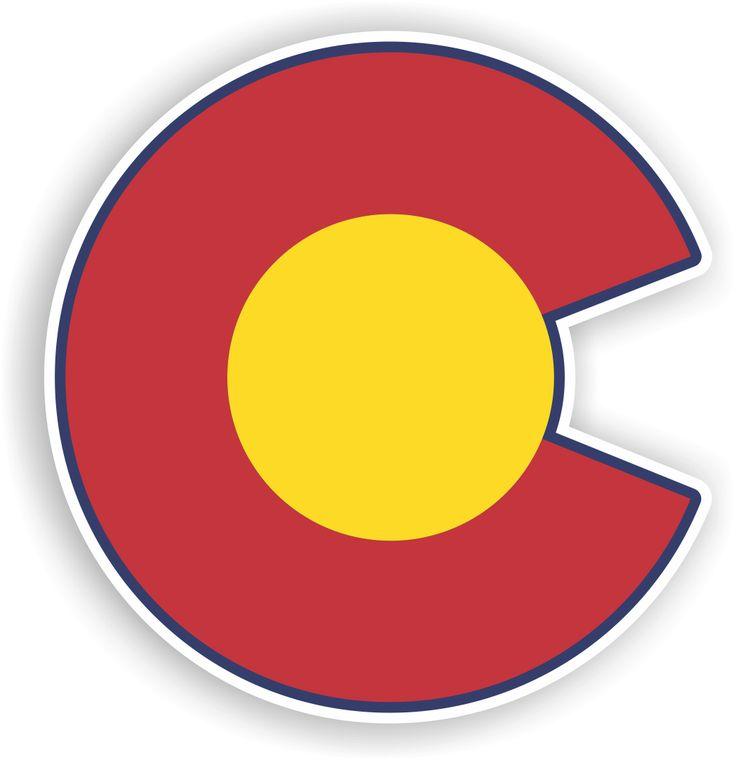 colorado c sticker stickers tech logos tech logo