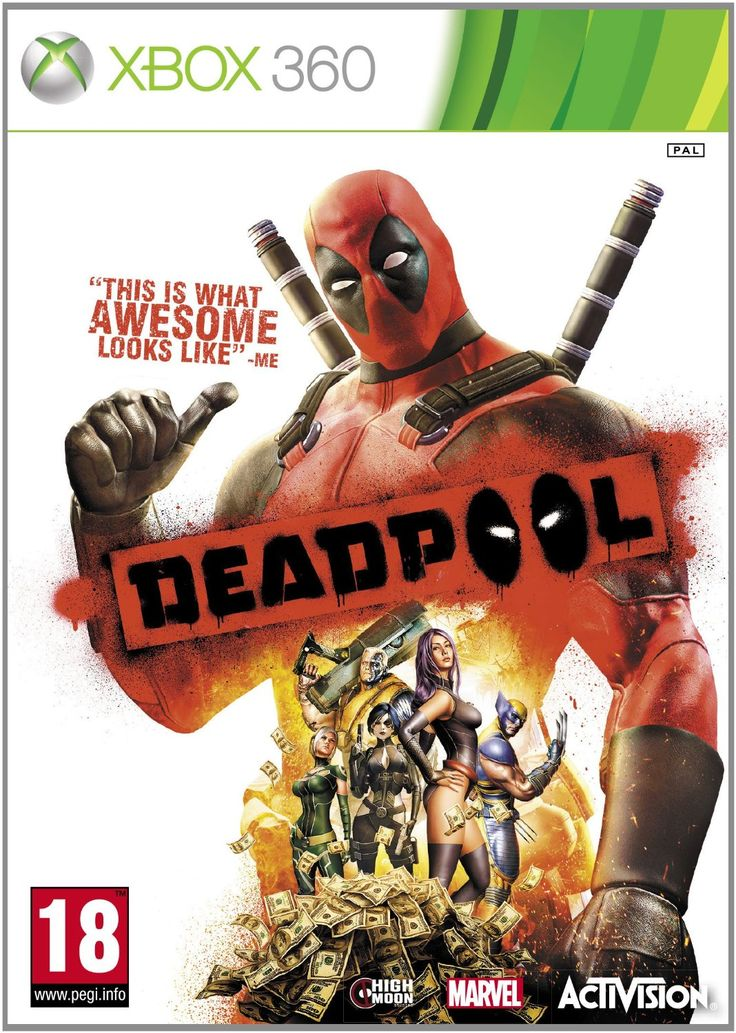 Enlarge Deadpool Xbox-360 Image