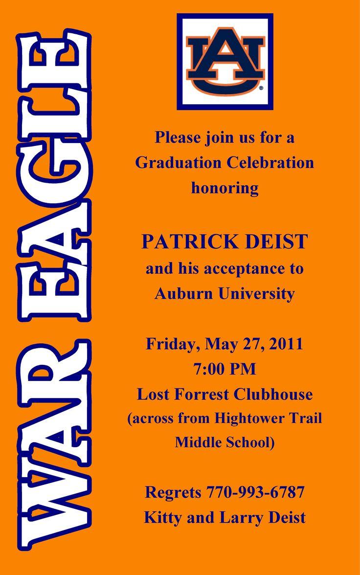54 best Graduation Invitations images on Pinterest   Graduation ...