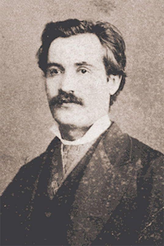 Mihai Eminescu, Bucuresti, 1878, foto: Franz Duschek