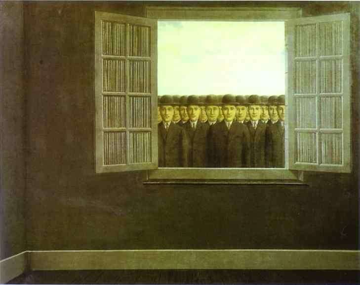 The month of the grape harvest, 1959 - René Magritte- WikiArt.org