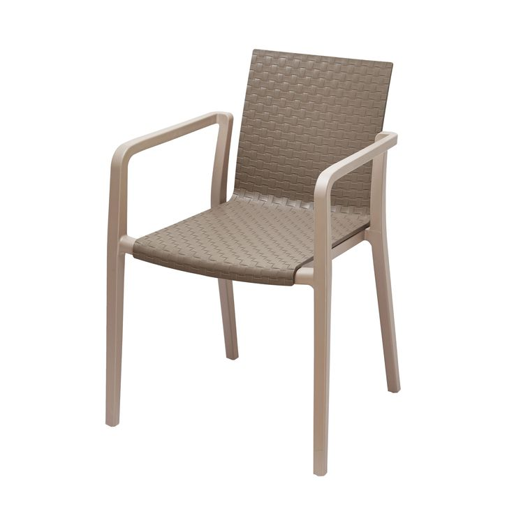 Gold Sparrow Hunter Grey and Two-Tone Stackable Chair