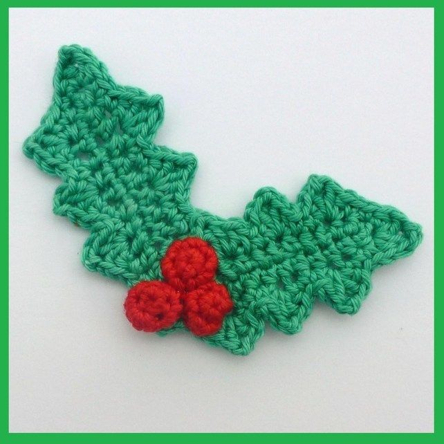 Crochet appliques, Appliques and Berries on Pinterest
