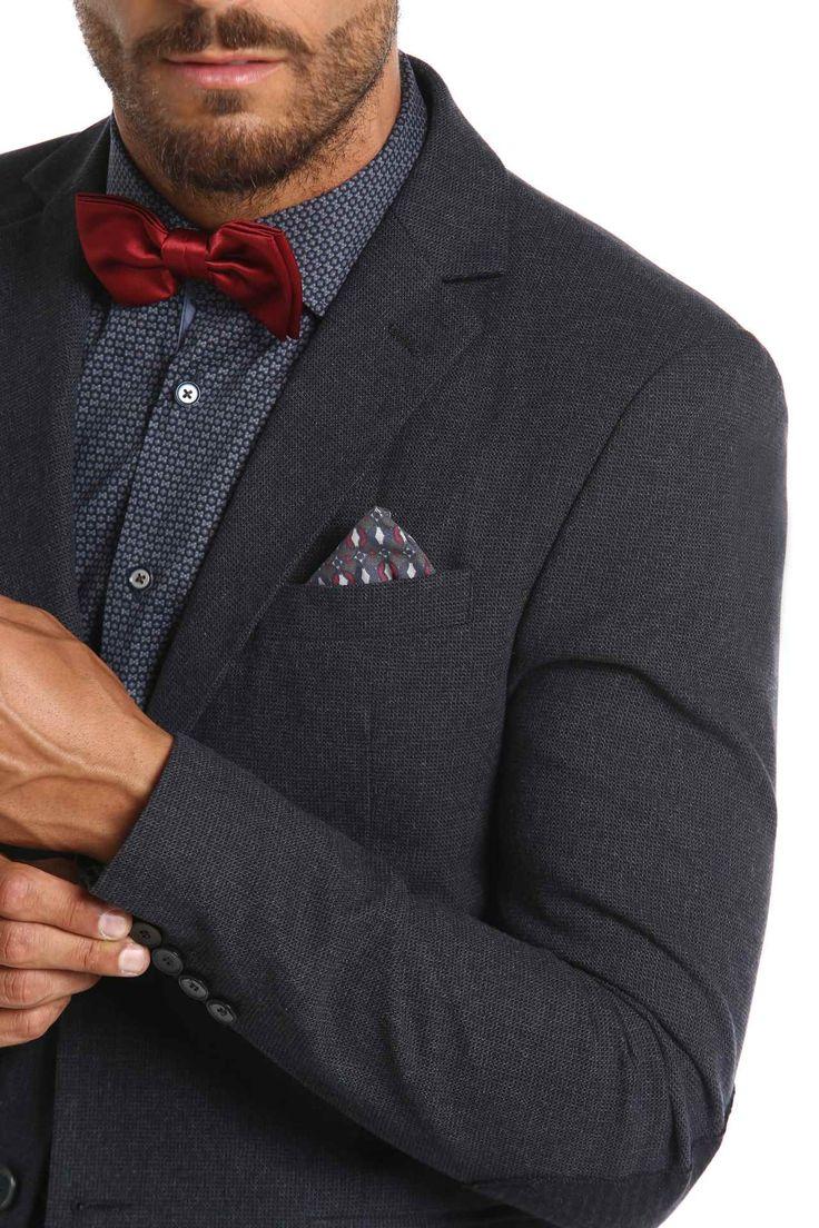 giacca tessuto tinto filo micro-quadro - sonnybono.com