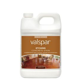 Valspar 1 Gallon Etching Stain Cayenne Red For Front