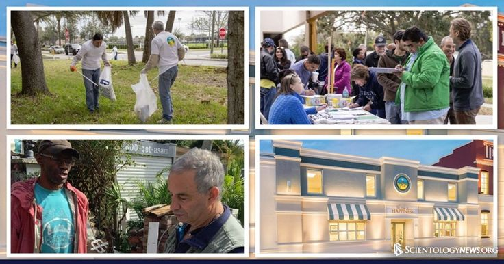 """Scientologists Join """"Adopt Greenwood"""" Project in Clearwater, Florida    In a coordinated initiative to upgrade the Clearwater, North Greenwood area, community leaders and Scientology volunteers join forces to help tackle crucial issues affecting the neighborhood.    Clearwater, FL, February 26, 2016 - Dozens of residents came together to clean up streets and lawns in North Greenwood as part of the Adopt Greenwood Project, an initiative launched this week by a team of Clearwater…"""