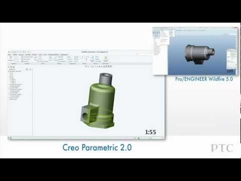Compare User Experience in Creo Parametric and Pro/ENGINEER