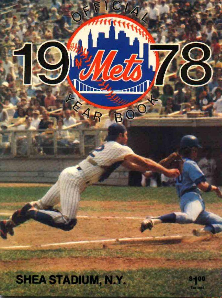 1978 New York Mets yearbook Scorecards, Programs