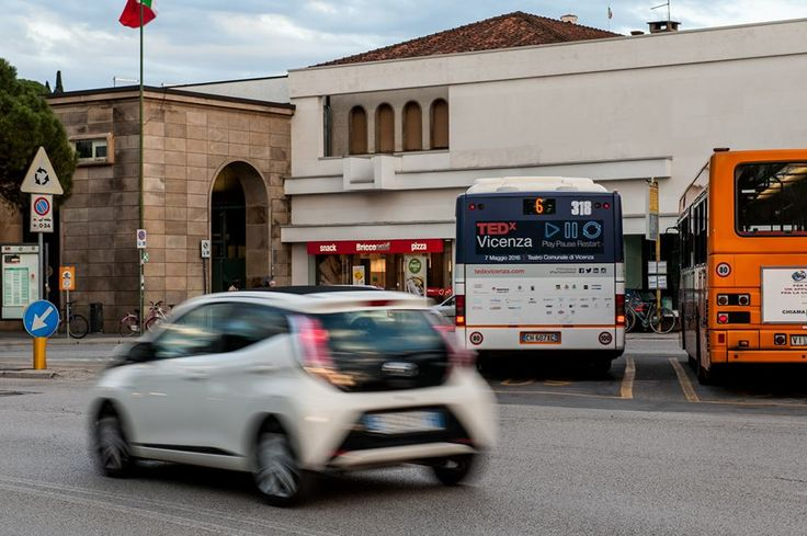 Bus Adv > Play.Pause.Restart>  #TEDx #Vicenza #TEDxVicenza