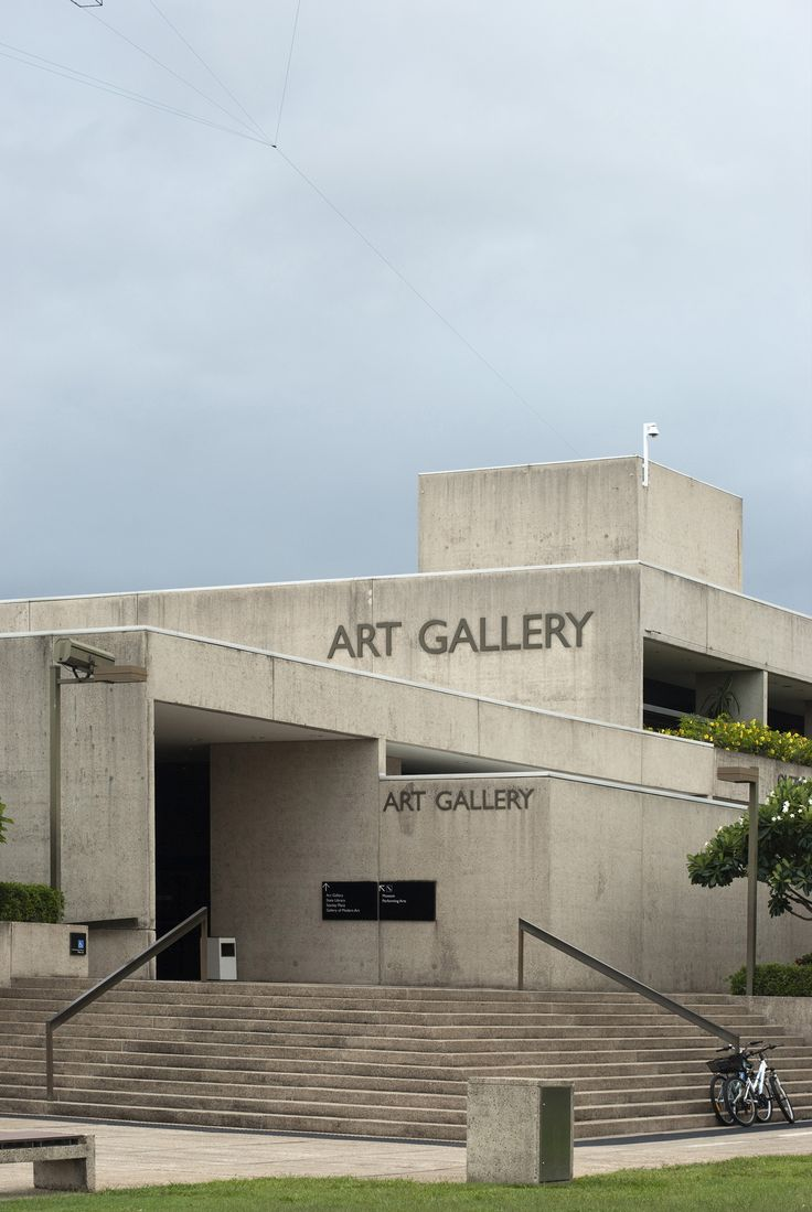 The Queensland Art Gallery (QAG) located in the South Bank precinct of Brisbane, Queensland, Australia. It is a single institution with two sites: the celebrated Robin Gibson-designed Queensland Art Gallery (QAG) which opened in 1982, and the Gallery of Modern Art (GOMA), designed by Architectus, at Kurilpa Point — the last reach of the Brisbane River which overlooks the city.