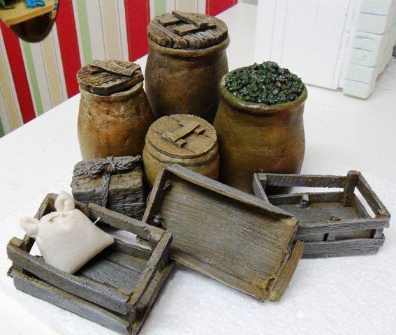 """Foro de Belenismo - Miniaturas, detalles y complementos -> Macarena """"cacharreo para el belén"""""""