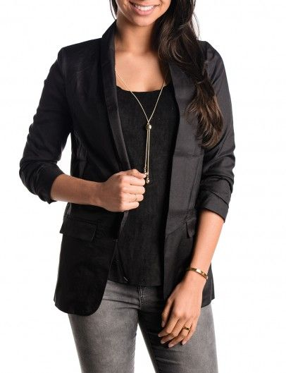 Black Blazer Osley - mooie zwarte blazers kopen