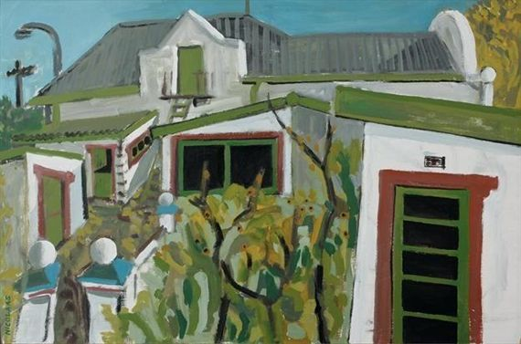 Nicolaas Maritz, THE ARTIST'S HOME