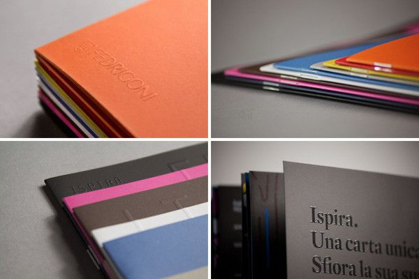 Ispira visual book for Fedrigoni  Concept design by Happycentro