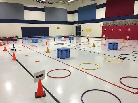 Physical Education Games - Knockout - YouTube