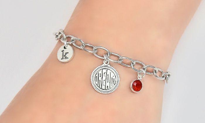 Custom Charm Bracelet from Monogram Online: Custom Charm Bracelet from Monogram Online
