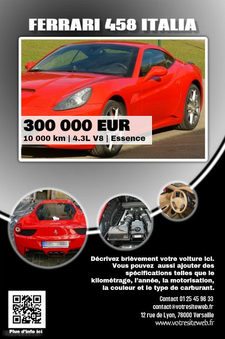 41 best Car Dealer Flyer (DIY) images on Pinterest Posters, Cars - car for sale template